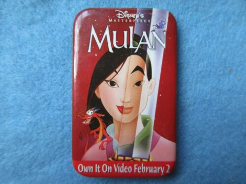 Disney Mulan Promotional Button  Pin