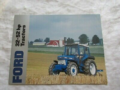 Ford 10 Series 32 - 52 Hp Tractors Brochure