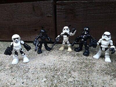 Star wars Galactic Heroes Figures Bundle Playskool Imaginext Stormtroopers