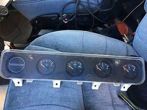 Jeep yj cluster part.