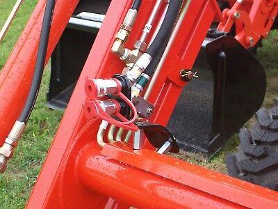 Kubota Tractor La1854 Front End Loader 3rd Hydraulic Valve Kit 7j442-94202