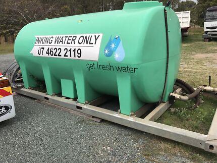 15,000 litre water tank,
