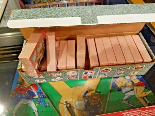 Williams SLUGFEST BASEBALL CARD REFILLS original NEW box for Pinball Game