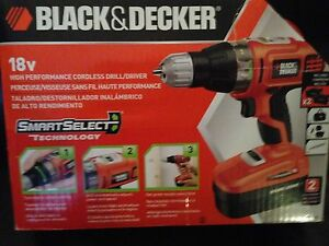 New Black and Decker Drill