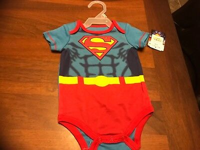 Superman 0-3 months creeper infant - Superman Baby
