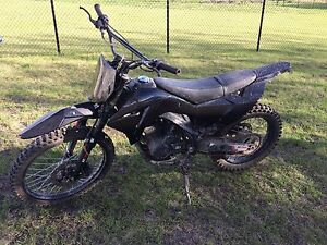 2015 250cc 4 Stroke, hardly used!