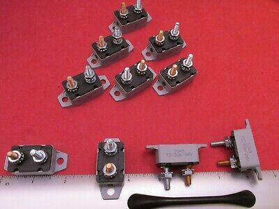 24 Volt 30 Amp (12 / 24 Volt 30 Amp DC Auto Reset Circuit Breaker for Wind Solar Automotive P/S)