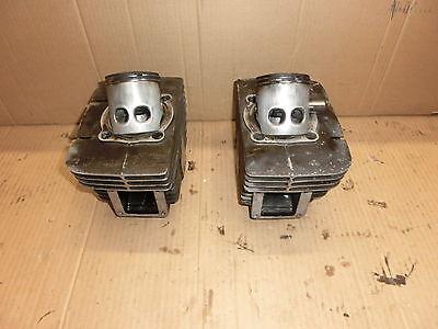 Zylinder Rechts und Links; cylinder; cylindre Yamaha RD 350 [351]  (V251)