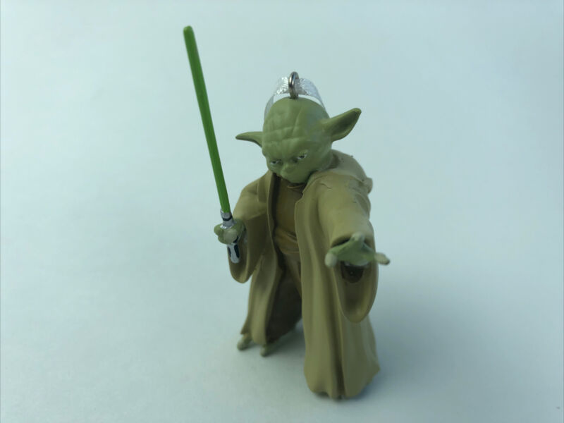Hallmark 2020 STAR WARS Clone Wars YODA Jedi Master Christmas Ornament