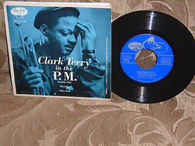 Clark Terry in The P.M. Emarcy EP-6108 45 RPM Horace Silver Art Blakey mega rare