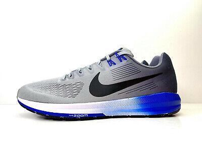 Nike Air Zoom Structure 21 Running Grey UK 11.5 EUR 47 US 12.5 904695 003