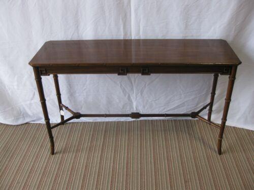 Century Fine Furniture Faux Bamboo Sofa Table