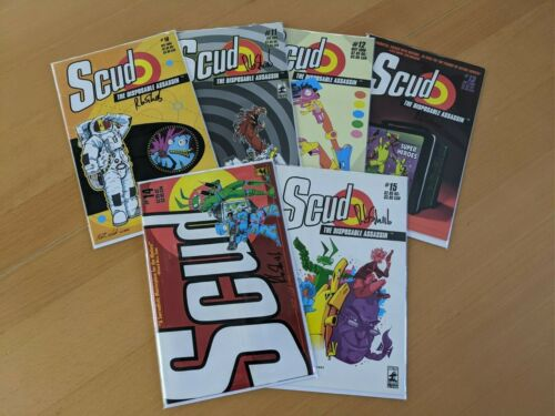 Scud The Disposable Assassin 6 Book Bundle - Signed!