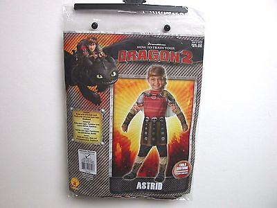 NWT NEW Halloween Costume Astrid How to Train Your Dragon  Child S 3-4 M 8-10