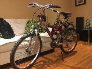 Infinity red bicycle for SALE!