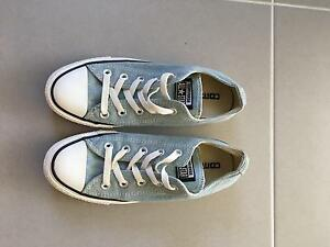 Light blue denim converse size 6 Midland Swan Area Preview