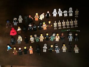 51 Lego Star Wars minifigures minifigs droids stormtrooper vader