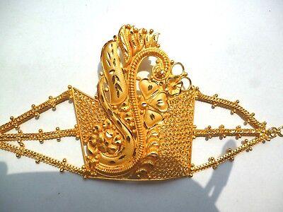 22k Gold Arm (22K Gold Plated Indian Bollywood Fashion Bajubandh Upper Arm Bracelet 1 pc ,, )
