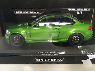1:18 GT Spirit bmw 1 series M Coupé e82 green mamba 2013 greenmetallic