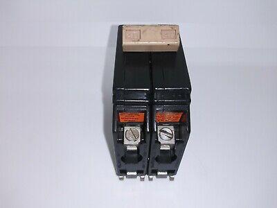 Eaton Cutler Hammer Ch240 40 Amp 2 Pole 120240v Circuit Breaker Metal Foot