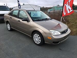 2006 Ford focus new two-year MVI