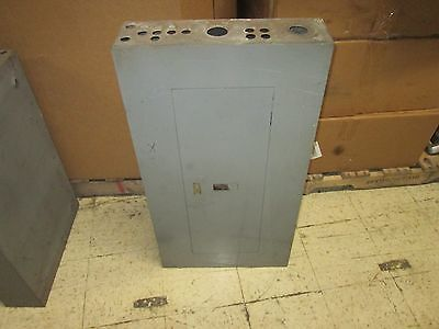 Square D Main Circuit Breaker Panel Nqob-57076-a 225a 225a Main Used