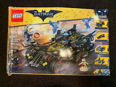 LEGO SET #70917 THE ULTIMATE BATMOBILE OPEN BOX SEALED BAGS