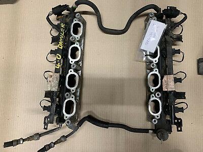 JAGUAR V8 4.0  SUPERCHARGED FUEL RAIL FUEL REGULATOR INLET MANIFOLD  INJECTORS