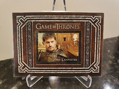 Game of Thrones Stamp Jaime Lannister Inflexions S9 Limited Edition