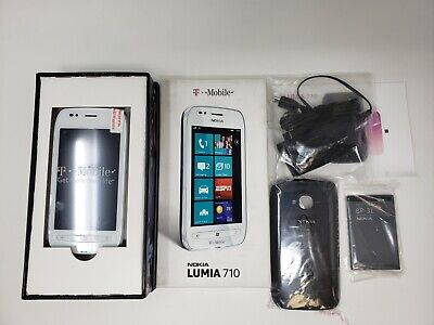 Nokia Lumia 710 - 8GB - White (T-Mobile) Smartphone Genuine Product Original Box
