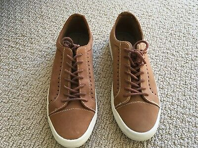 Zara Men's Brown Suede Lace Up Shoes Oxfords Size US 9 / EU 42