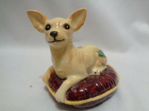 Genuine Beswick England Chihuahua Dog Porcelain