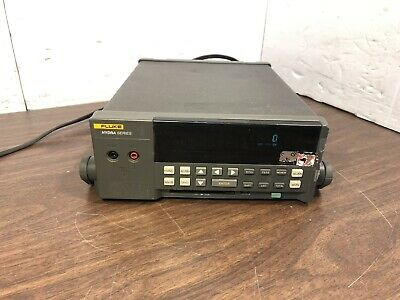 Fluke Hydra Series Serial 6557311 Tested To Power Up