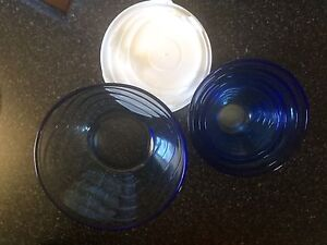 5 glass bowls with lids Beaconsfield Fremantle Area Preview