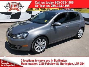 2012 Volkswagen Golf Highline, Automatic, Leather, Sunroof, Dies
