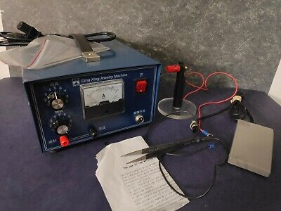 400w Dx-50a Jewelry Laser Pulse Welding Machine Handheld Mini Spot Welder