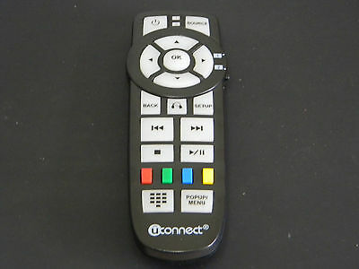 2014 CHRYSLER DODGE  MINIVAN DVD Entertainment Remote Control REAR SEAT OEM