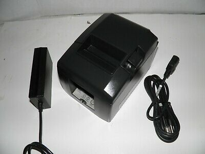 Star Tsp650 Thermal Pos Receipt Printer Serial With Power Supply Model 654d