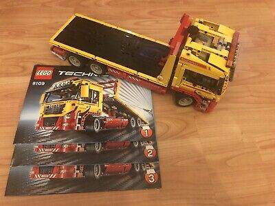lego technic 8109 100% Complete With Power Functions. Retired Set