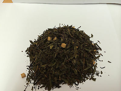 Grüner-tee-creme (100g  Grüner Tee Creme Karamel Caramel  frisch Grüntee)