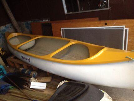 Sports craft  fibreglass canoe  Launceston 7250 Launceston Area Preview