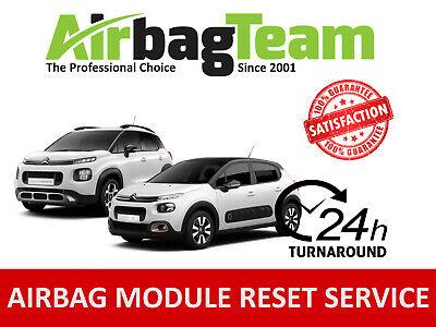 Citroen C3 SRS Airbag ECU Control Module 9829442880 A2C18747300 No Crash Data