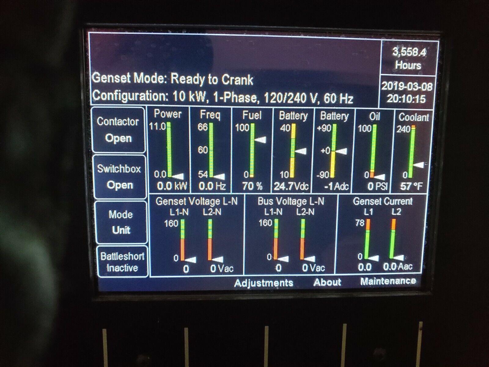 Cummins MEP-1040 AMMPS 10KW Tactical Military Diesel Generator 60HZ  MEP-803a | Shopping Bin - Search eBay faster
