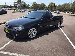 2007 FORD FALCON BF11 UTE XR6 TURBO Berkeley Vale Wyong Area Preview