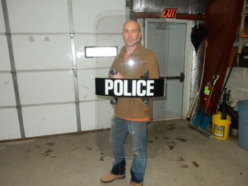RIOT SHIELD  / BODY PROTECTION