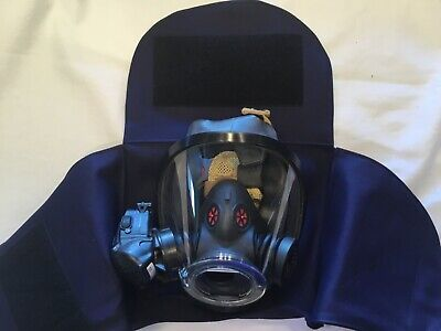 Firefighter Scba Mask Bag Face Piece Bag Scott Flame Resistant Material