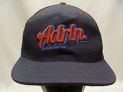 ADRLN - ADRENALINE LACROSSE CO - ADJUSTABLE SNAPBACK BALL CAP HAT!