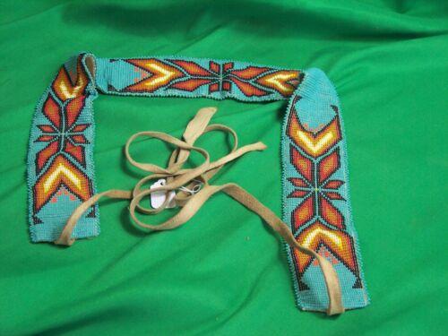 Cheyenne Beadwork Belt - Vintage and Beautiful!
