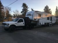Fifthwheel and Travel Trailer Transport