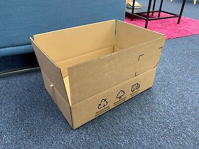 x10 DOUBLE WALL POSTAL MAILING CARDBOARD BOXES Large Size, 475x315x112mm